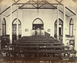 Interior of the Union Church, Simla